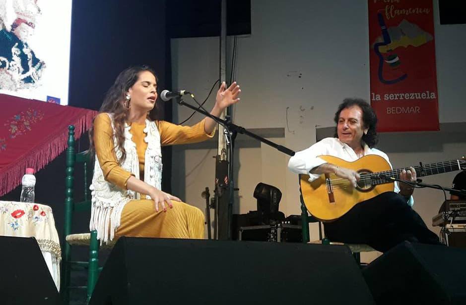 Ángeles Toledano, reivindica la figura de la mujer en el flamenco en Bedmar