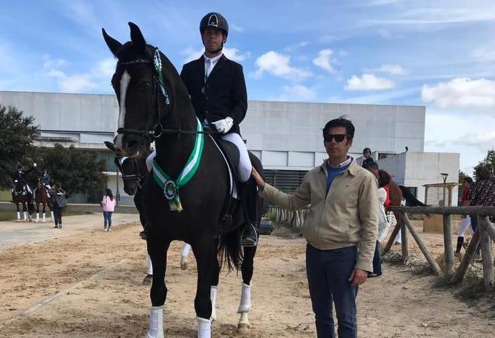 El andujareño, Manuel Jesús Jurado, Campeón de Andalucía en Doma Clásica