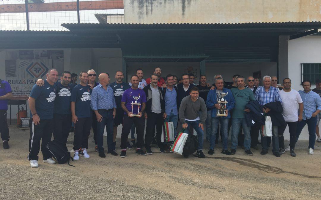 Los Veteranos de Torredelcampo se enfrentan al veteranos del Real Betis en memoria de Manuel Cruz Cámara