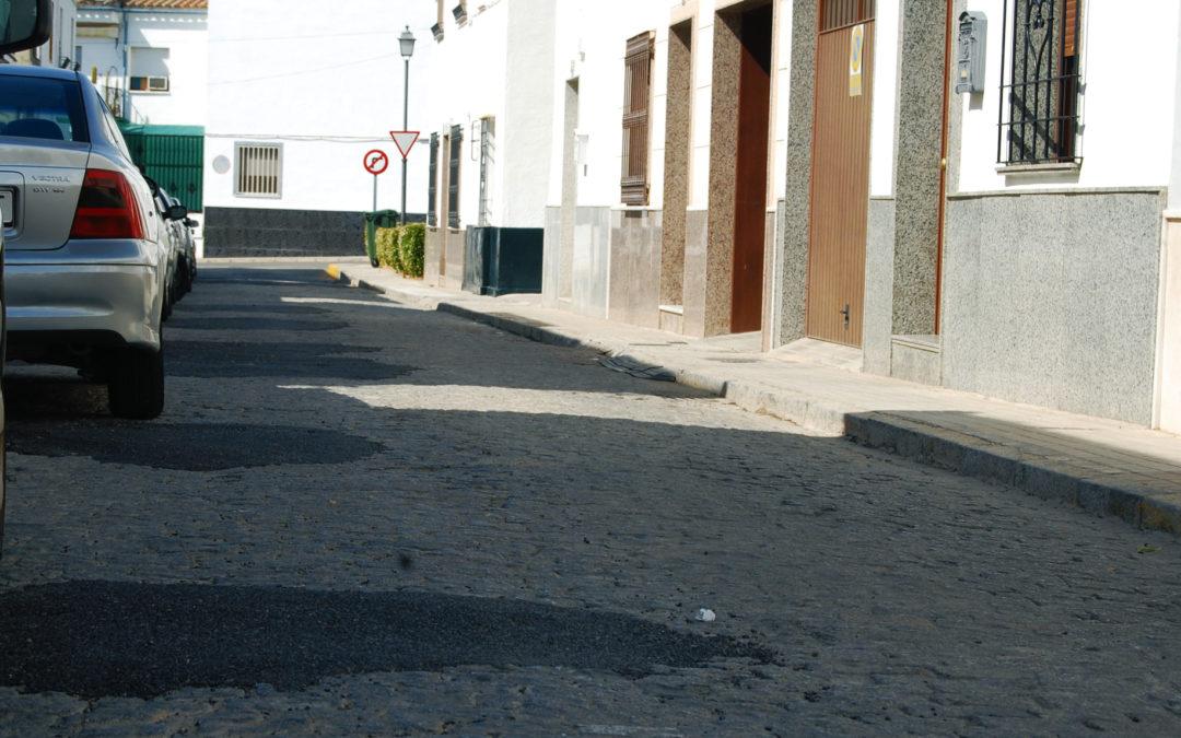 60.000 euros para el arreglo de la calle Pérgolas