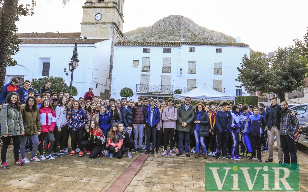 Doscientos estudiantes de ESO participan en una prueba de Orientación