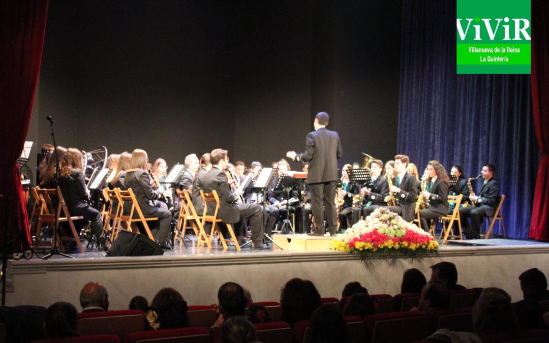 La Banda de Música de Villanueva de la Reina rinde un homenaje a Gaspar Jiménez