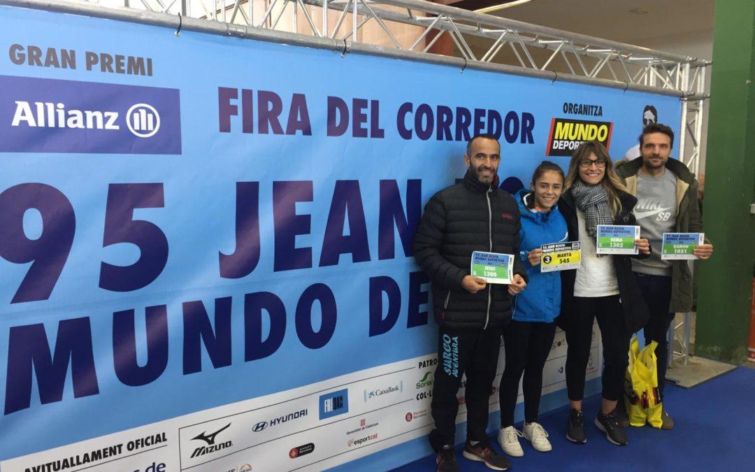 """Éxito de los atletas marteños en la """"Jean Bouin"""" de Barcelona"""