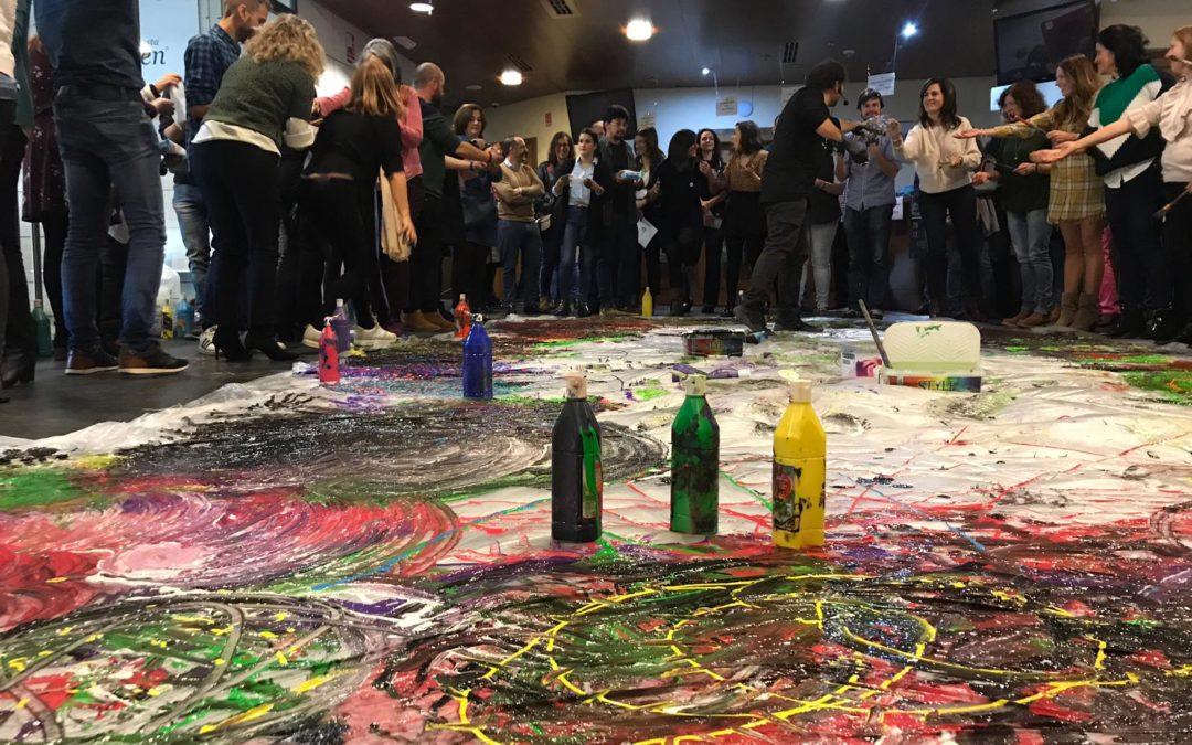 Taller sobre experiencias artísticas para la inclusión impartido por Art Diversia en el Congreso Jaén Educa