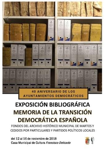 Exposición bibliográfica de Memoria de la Transición Española