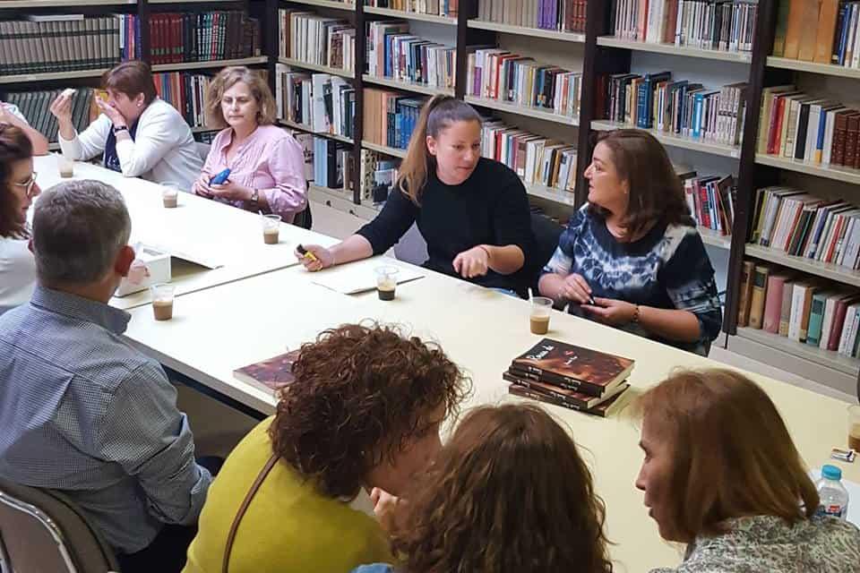 """Comienza la andadura del nuevo """"Club de Lectura"""" de Villanueva de la Reina"""