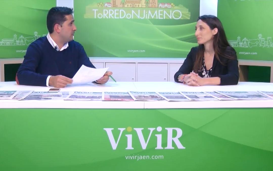 VIVIR TV || Entrevista a la candidata de Ciudadanos en Jaén, Mónica Moreno