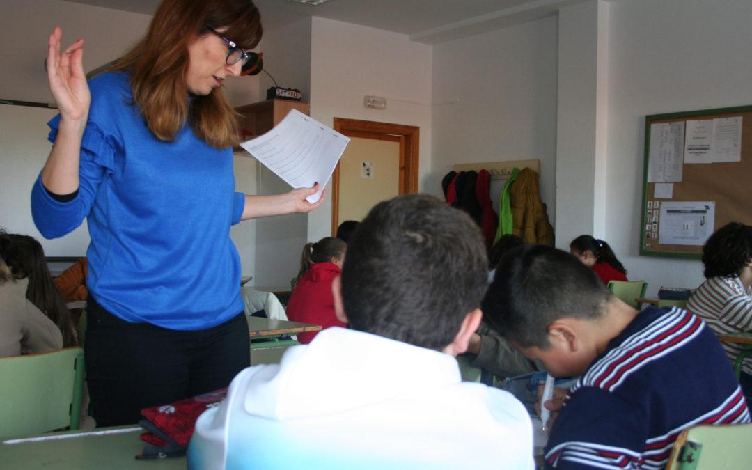 Jóvenes del IES Virgen de la Cabeza participan en un taller de prevención de violencia de género