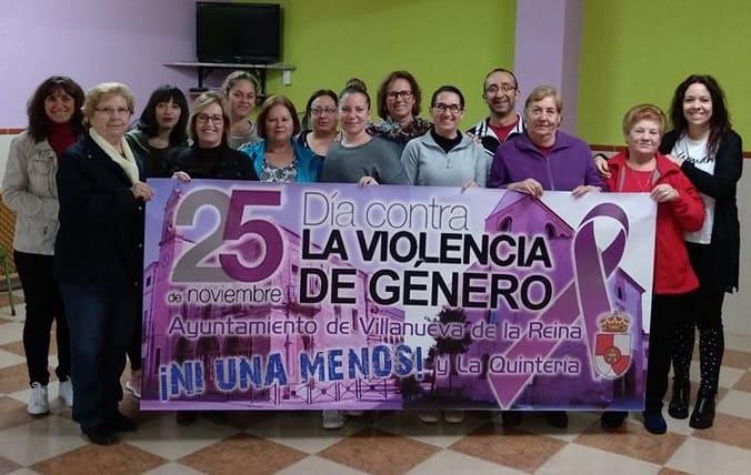 Villanueva de la Reina contra la violencia de género