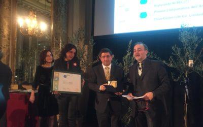 Diputación recibe el prestigioso Premio Cristina Tiliacos de la guía Flos Olei por su trabajo de promoción del aceite