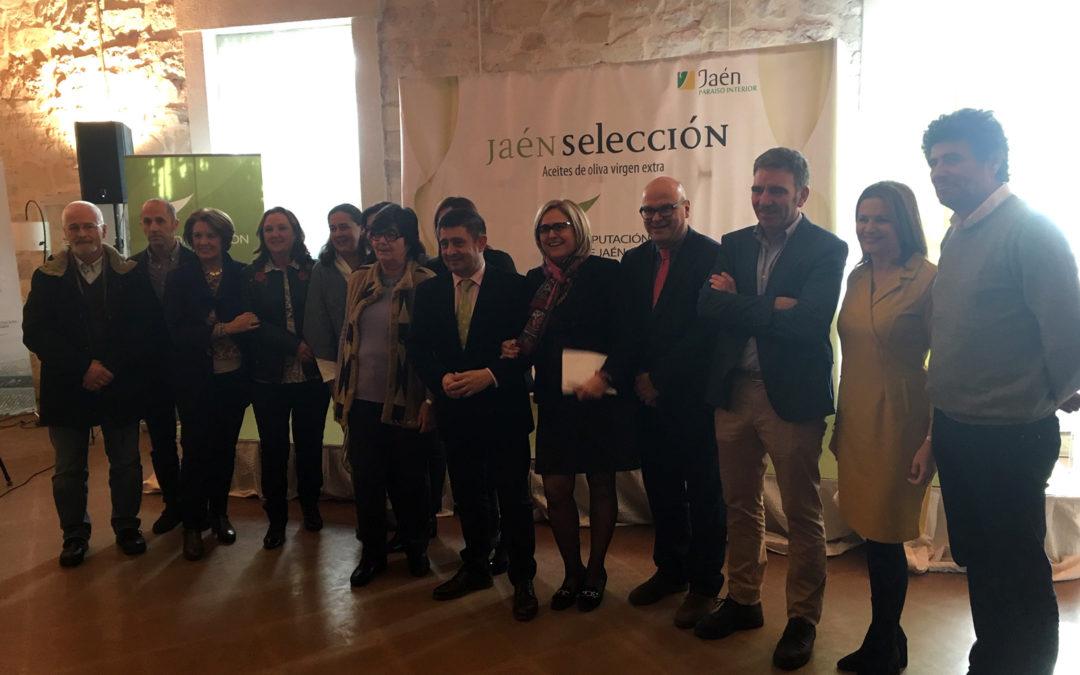 Diputación presenta los 8 mejores AOVEs de esta cosecha, que portarán el distintivo Jaén Selección durante 2019
