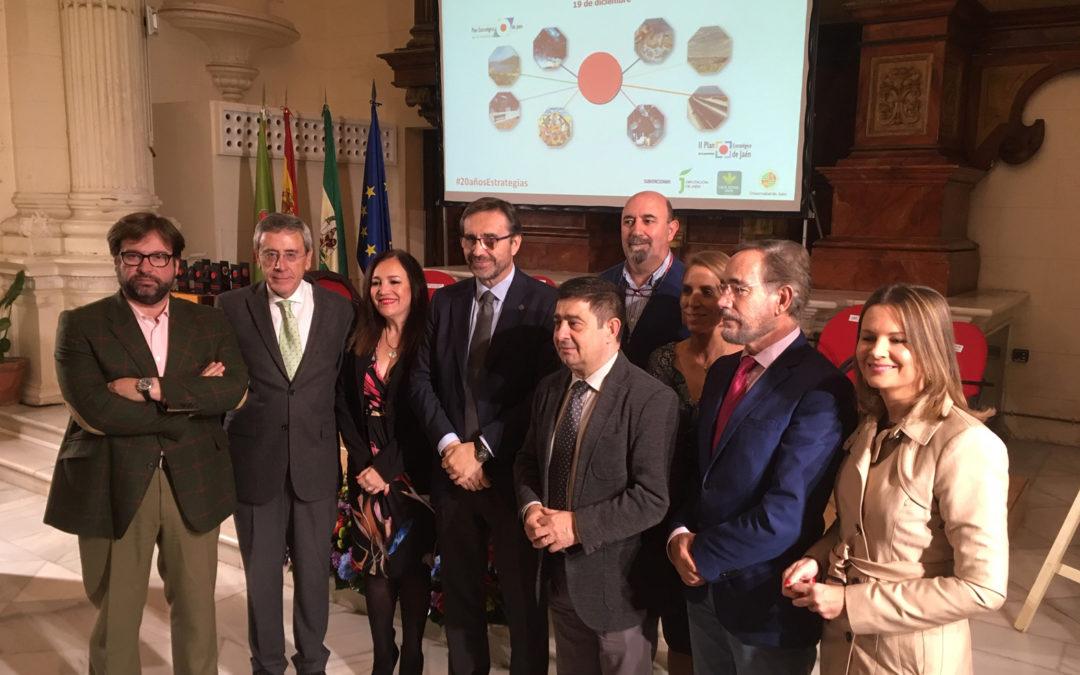 """Celebrado el 20 aniversario de la Fundación Estrategias con una Jornada sobre """"Desarrollo económico y social de la provincia de Jaén"""""""