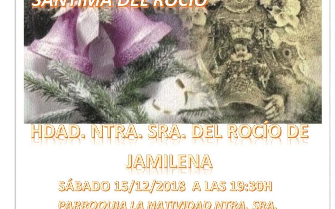 Sabatina en honor a la María Santísima del Rocío de Jamilena