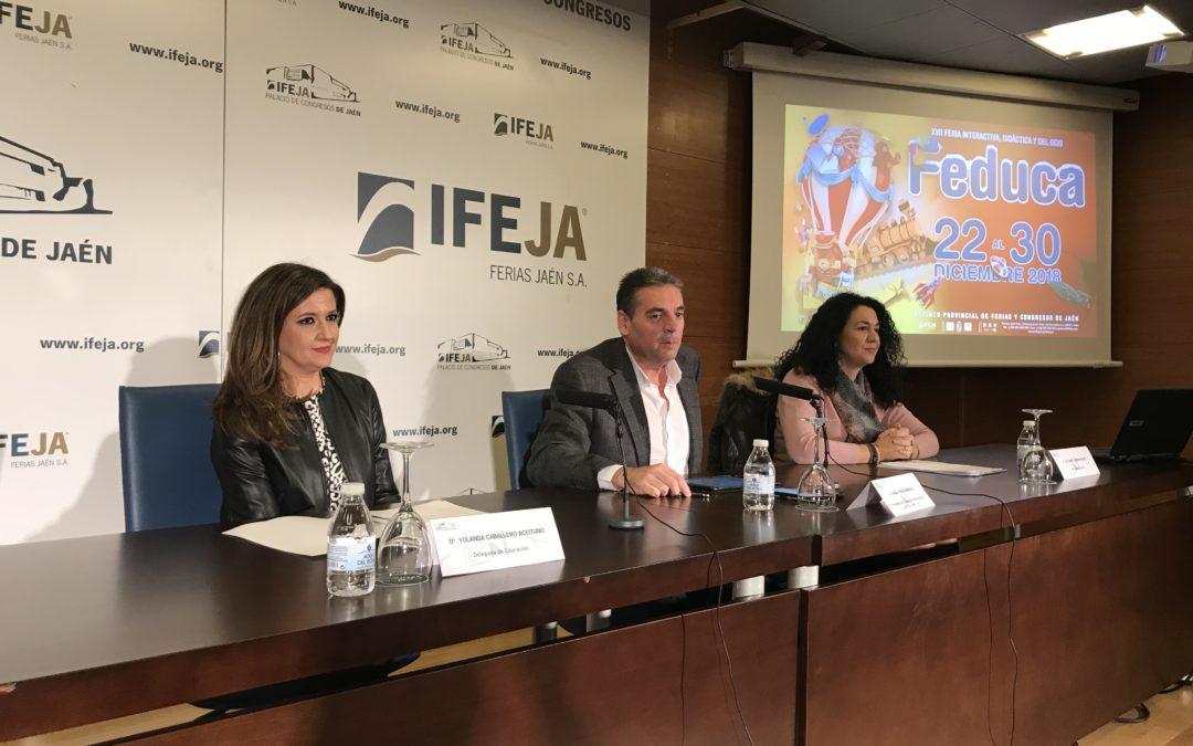 Feduca abre sus puertas la próxima semana, donde se darán cita 67 centros educativos de las provincias de Jaén y Córdoba y casi 6.000 alumnos