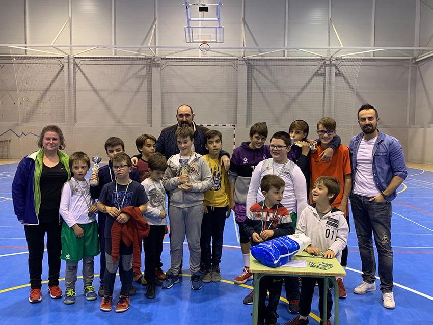 Celebrado el III Torneo Navideño 3×3 de baloncesto