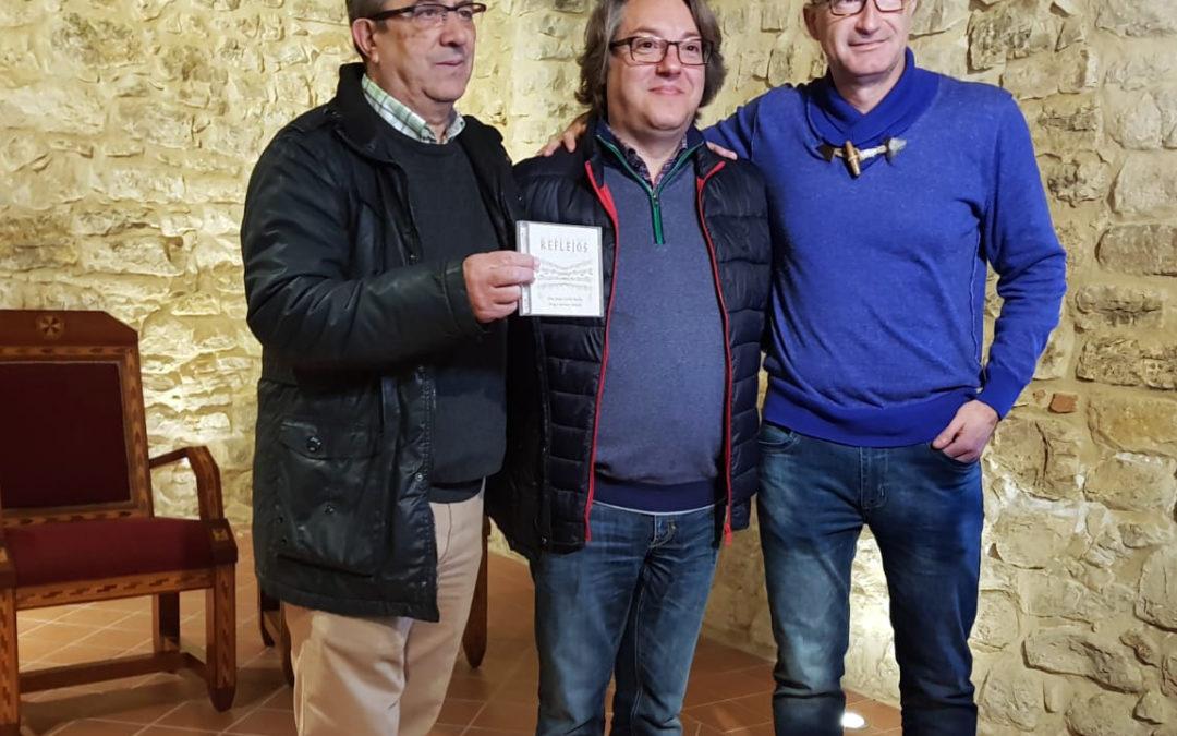 Eloy Cubillo presenta su nuevo disco 'Reflejos' en el Castillo de Torredonjimeno