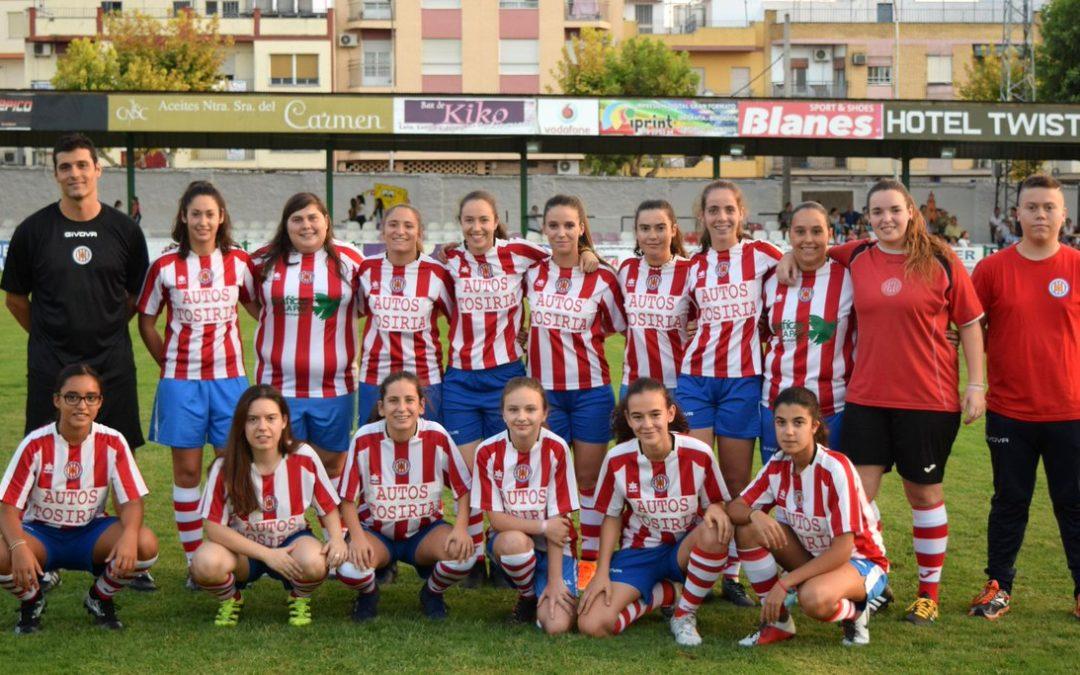 El Unión Deportiva Ciudad de Torredonjimeno Femenino lidera la tabla