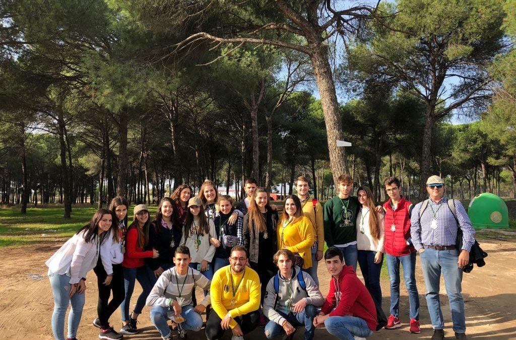 Jóvenes del Rocío viajan a Córdoba por el V Encuentro de Jóvenes por la Fe 2018