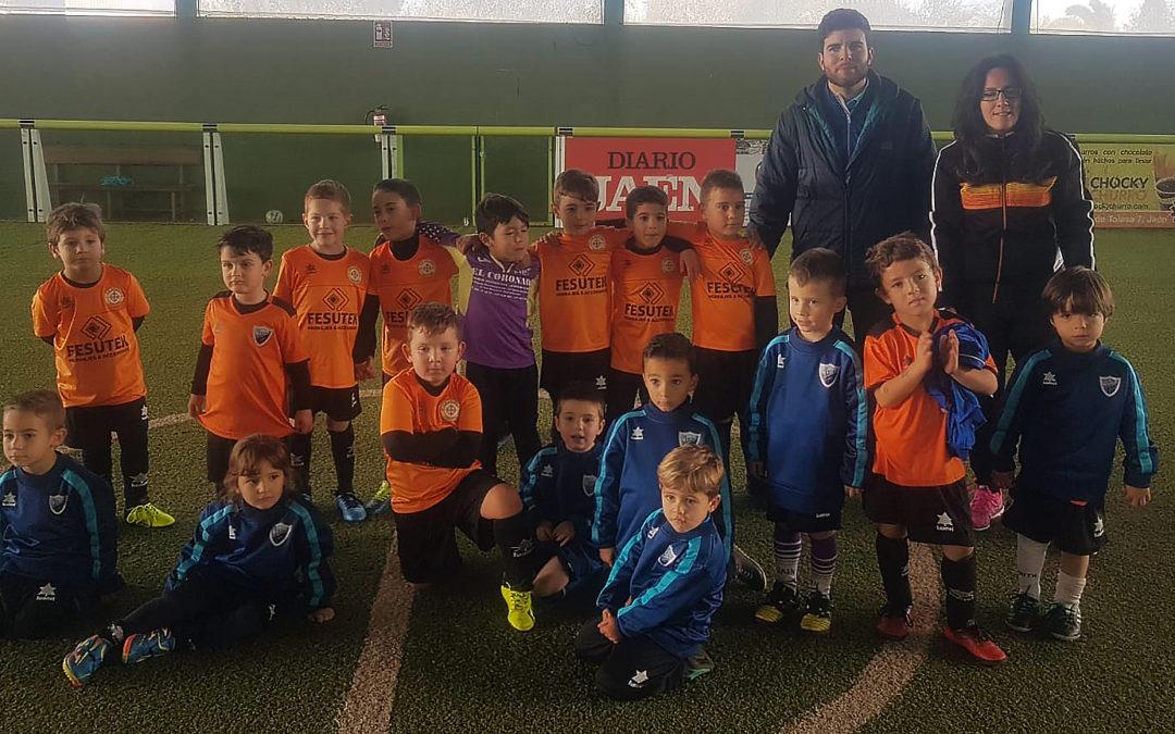 El Atlético de Jamilena Bebé triunfa en la liga Five Kids