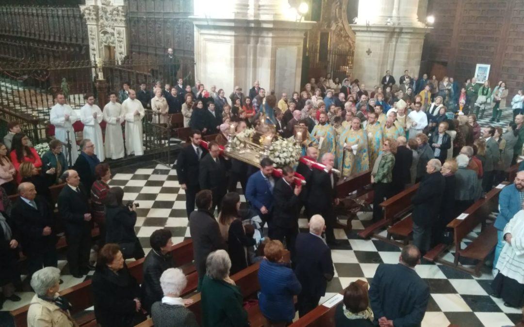 El Obispo confiere los ministerios de Acólito y Lector al tosiriano Antonio Blanca en la Solemnidad de la Inmaculada Concepción