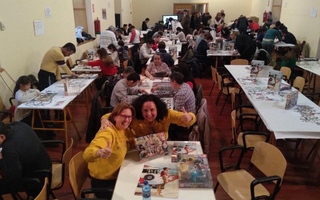 """""""Marmolejo 2005"""" participa en el concurso nacional de puzles"""