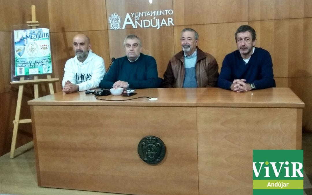 El Betis Iliturgitano homenajea a Jose Luis Mezquita en su Trofeo de Navidad