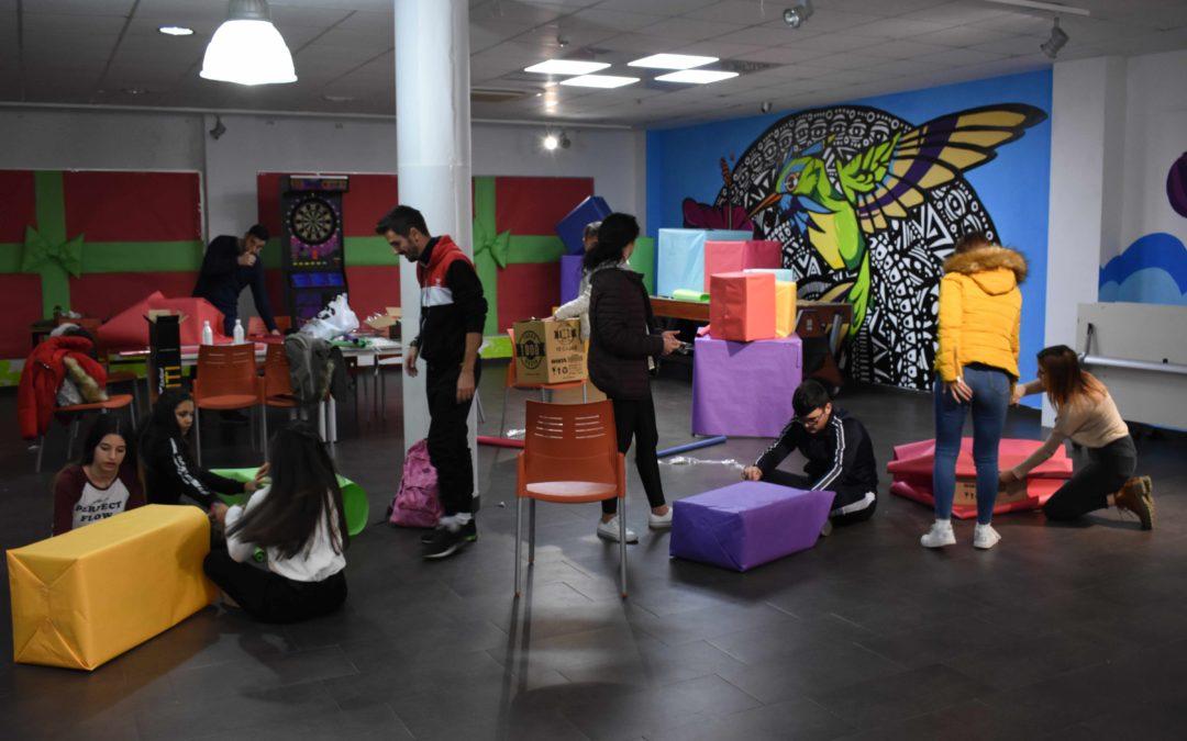 La asociación Mesa Local de la Juventud organiza talleres y actividades para niños bajo el nombre de Naviguay