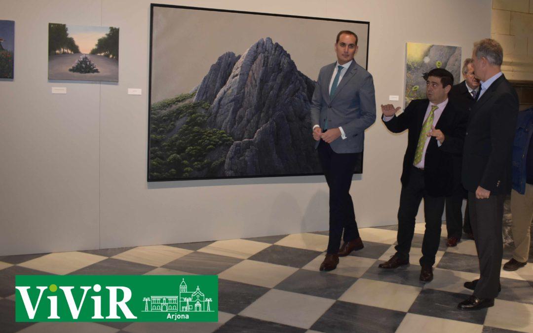 El artista Alwin van der Linde expone su obra en Arjona