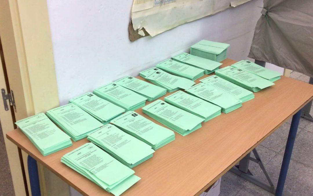Vox irrumpe en Jaén con 1 parlamentario y un total de 24.512 votos