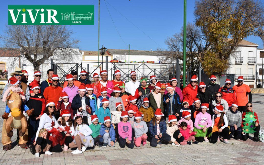 Lopera celebra por tercer año consecutivo su San Silvestre solidaria