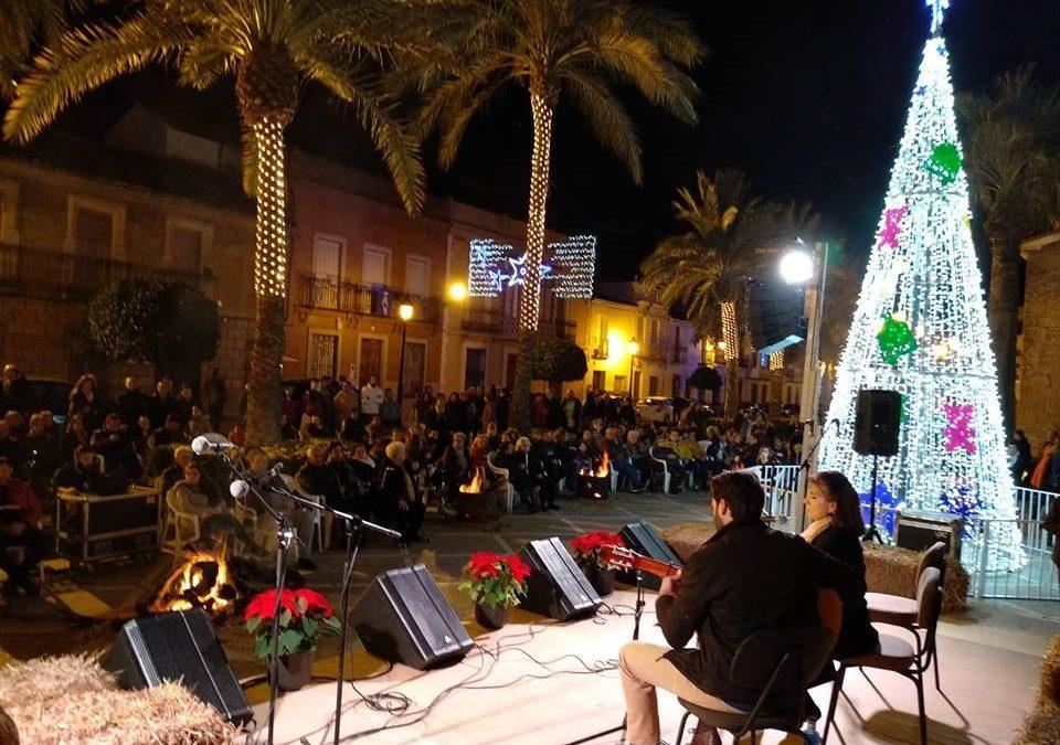 La Navidad ilumina a Villanueva de la Reina
