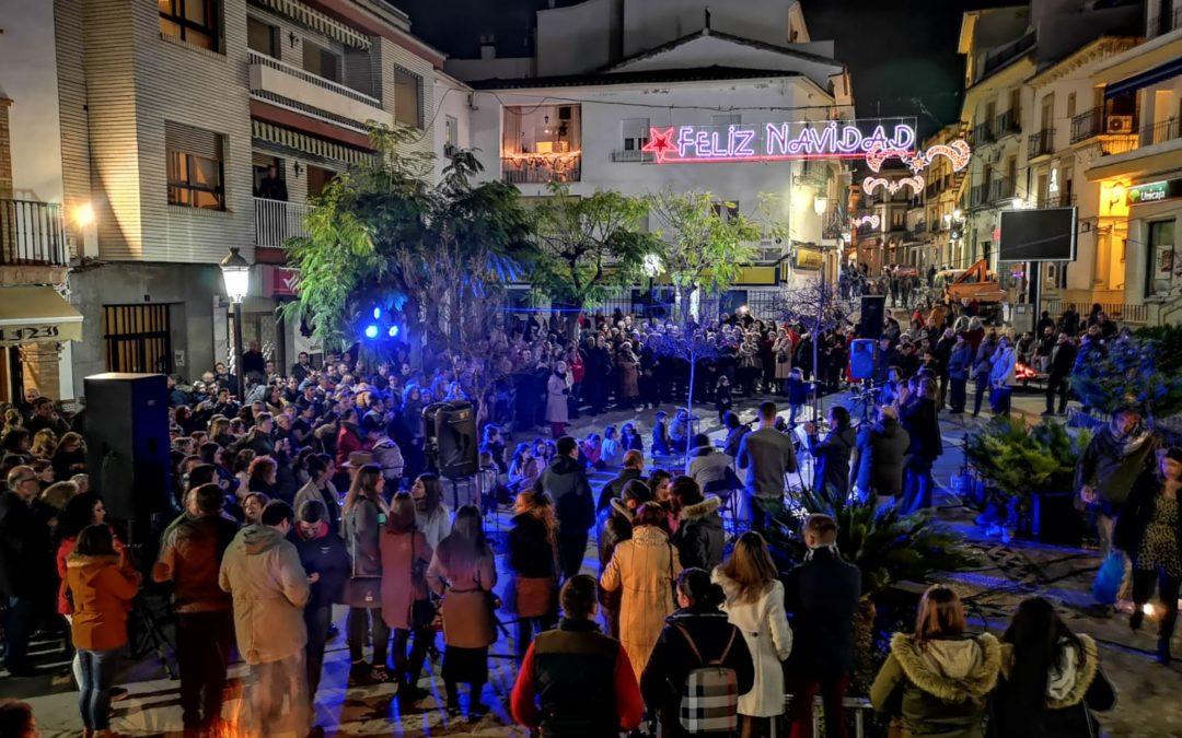 La zambomba flamenca marca el inicio de las fiestas navideñas en Arjona