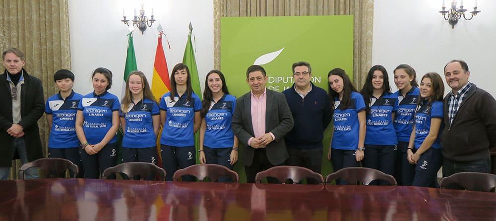 Diputación seguirá colaborando con el club Tenis de Mesa de la ciudad
