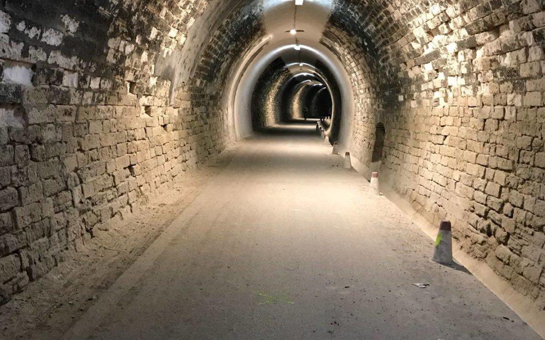 Inversión de más de 160.000 euros a restaurar el alumbrado en distintos tramos de la Vía Verde del Aceite