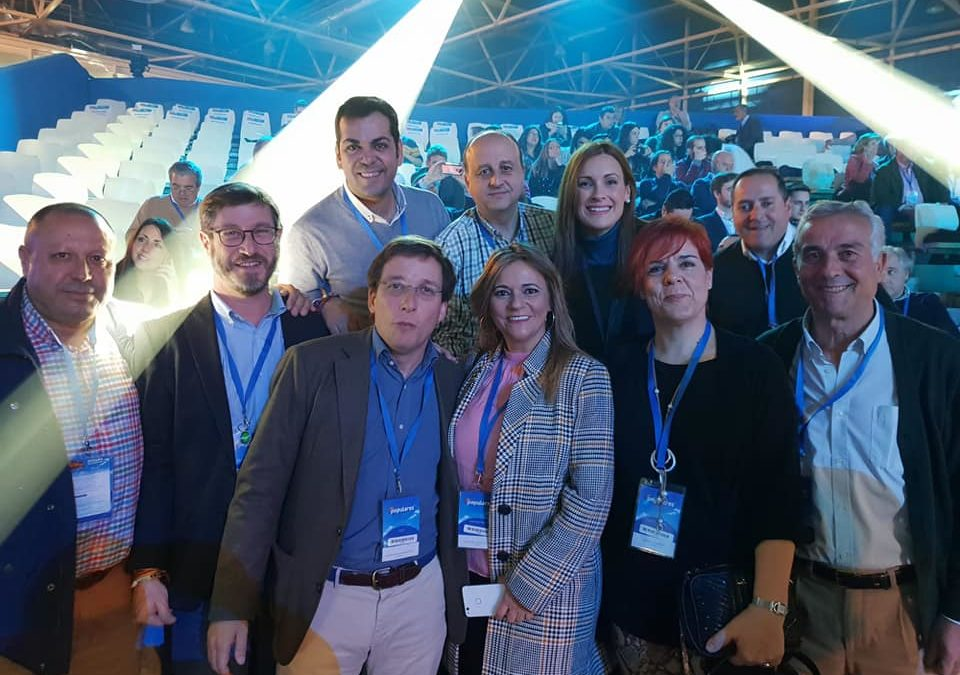 Presencia marteña en la Convención Nacional del Partido Popular