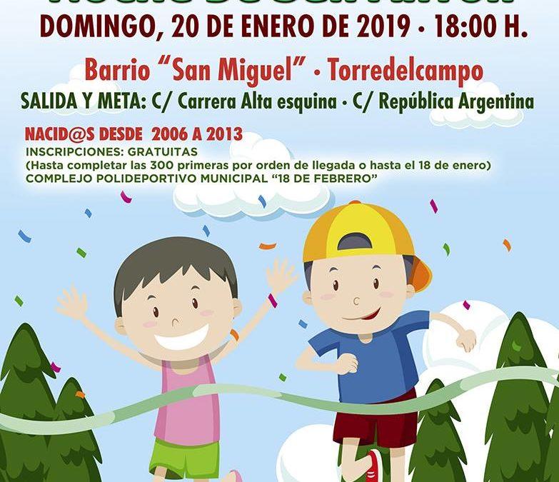"II Carrera Urbana Infantil ""Noche de San Antón"""