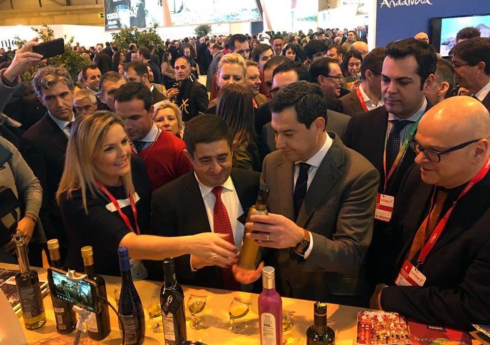 Jaén luce en la primera mañana de FITUR sus mejores galas turísticas ante miles de visitantes