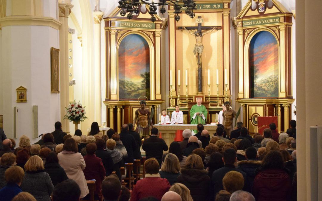Los Santos regresan a Arjona después de su restauración