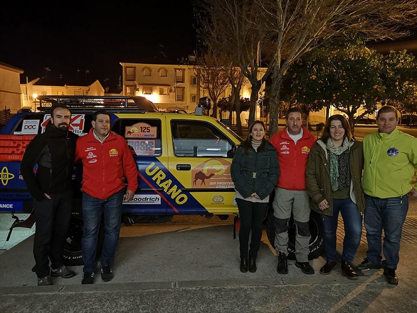 Encuentro con los pilotos Miguel Bravo y Mariano Banderas