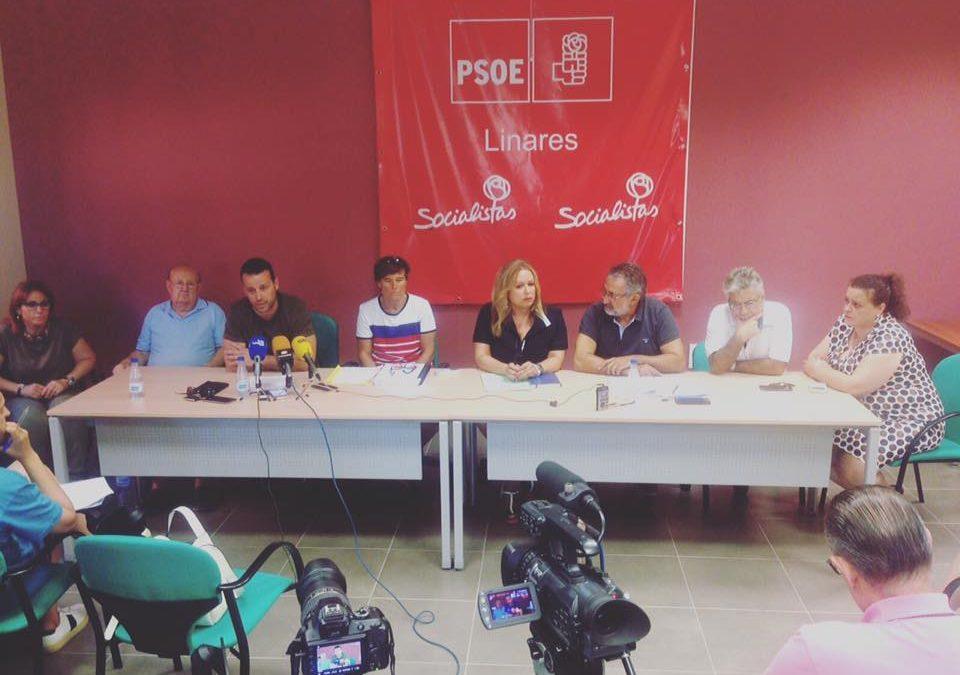 El PSOE pide la dimisión del alcalde y acusa a Cs, al PP y Cilus de mantenerlo