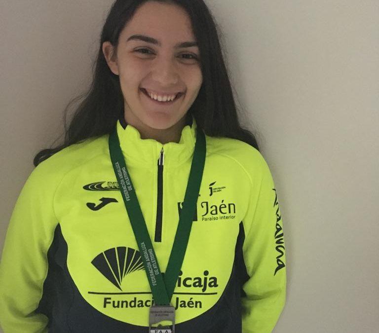La atleta linarense Ana Visiedo sub campeona de Andalucía por Clubs