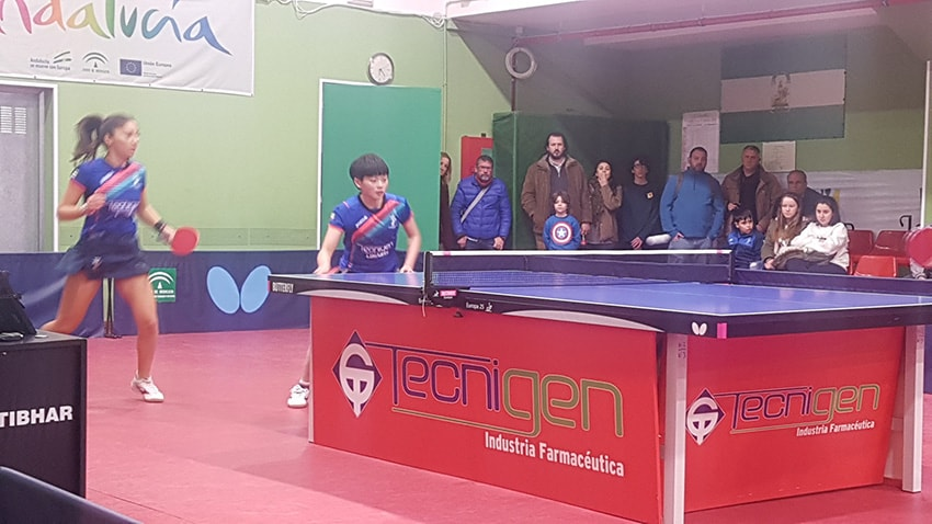El Tecnigen Linares de Tenis de Mesa más cerca del título