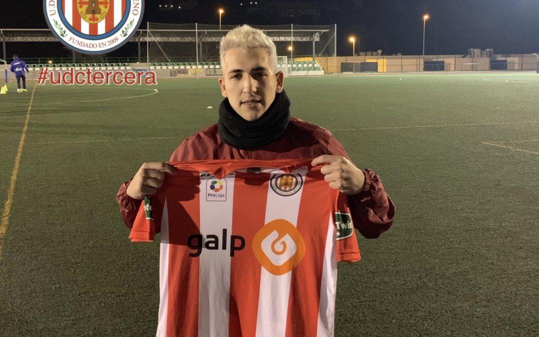 Rubén se incorpora a la plantilla del Unión Deportiva Ciudad de Torredonjimeno