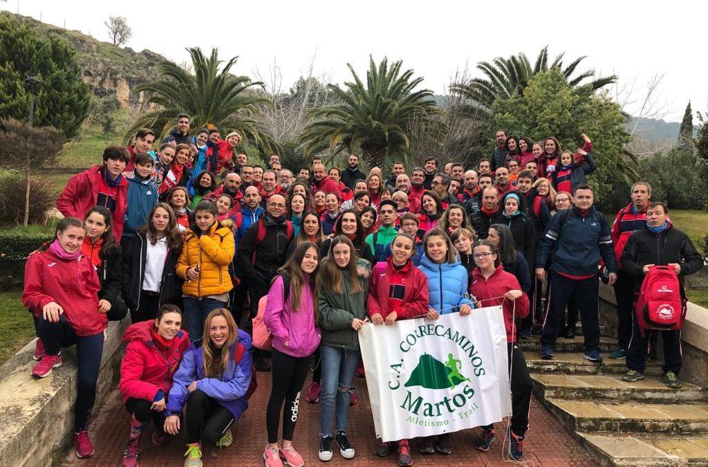 """Triunfo de los atletas marteños en la """"San Antón"""" de Jaén"""