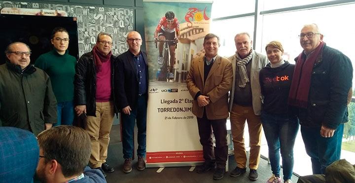 La Vuelta a Andalucía hará parada en Torredonjimeno el 21 de febrero