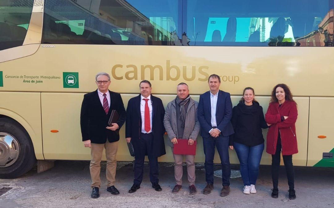 Villanueva de la Reina se incorpora a la Red del Consorcio Metropolitano de Transportes