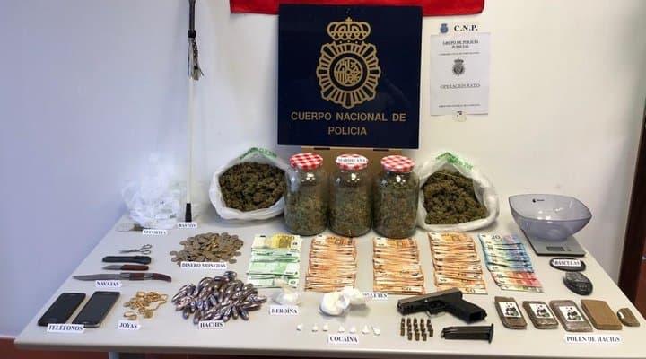 La Policía Nacional desmantela otro punto de venta de drogas en Andújar