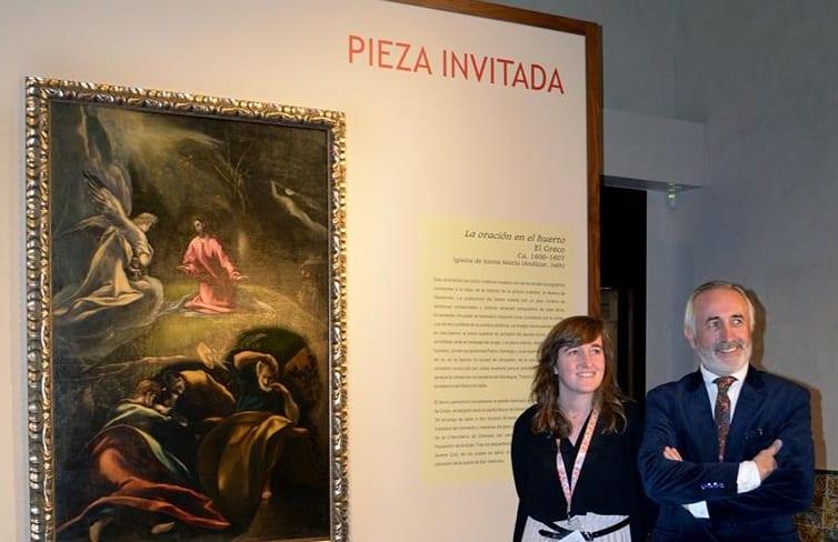 El Greco de Andújar, pieza estrella en el Museo del pintor en Toledo
