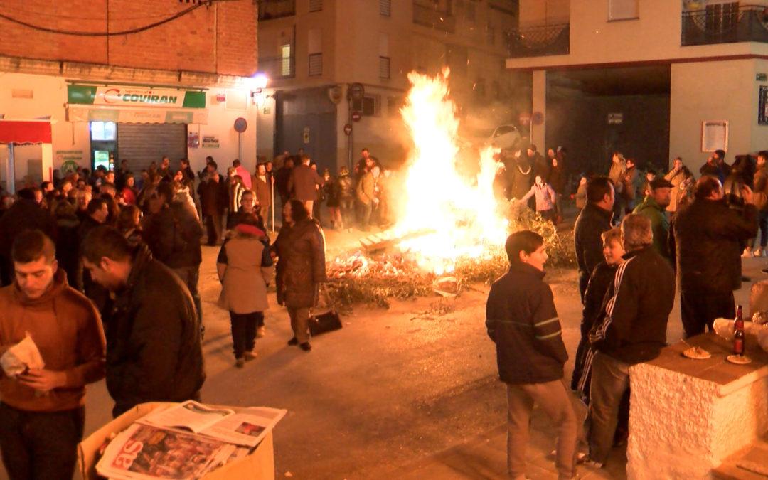 Torredelcampo se prepara para celebrar la Noche de San Antón