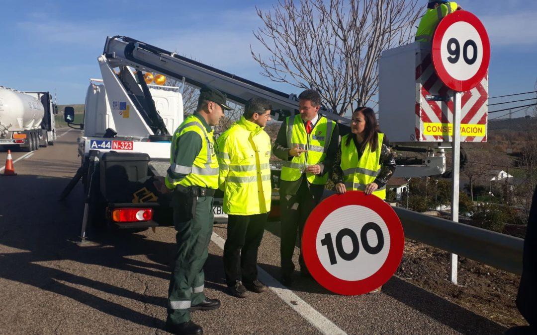 Reducción de velocidad en carreteras convencionales a 90 km/h